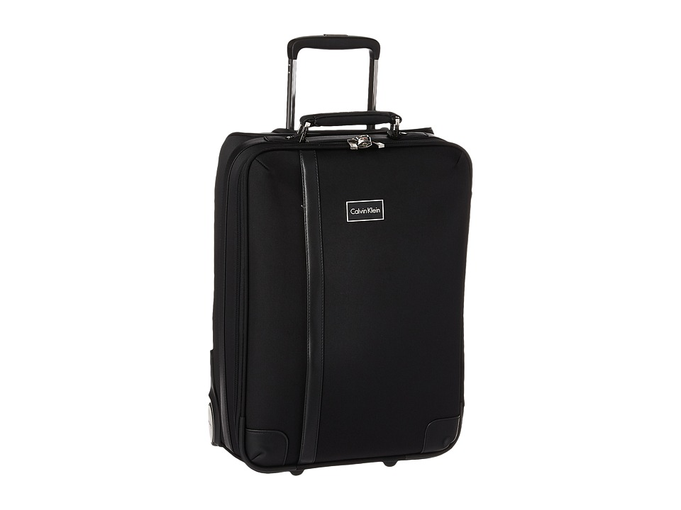 Calvin Klein - Cortlandt 2.0 21 Upright Suitcase (Noir) Luggage