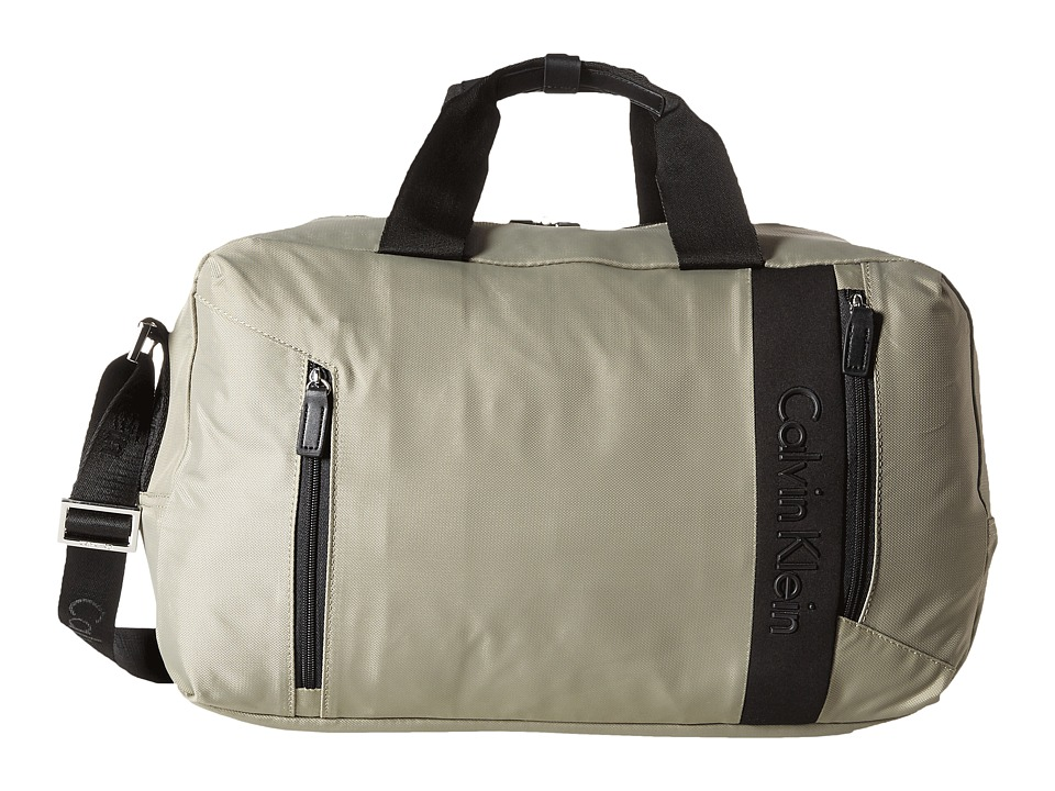 Calvin Klein - Northport 2.0 Small Duffel (Beige) Pullman Luggage