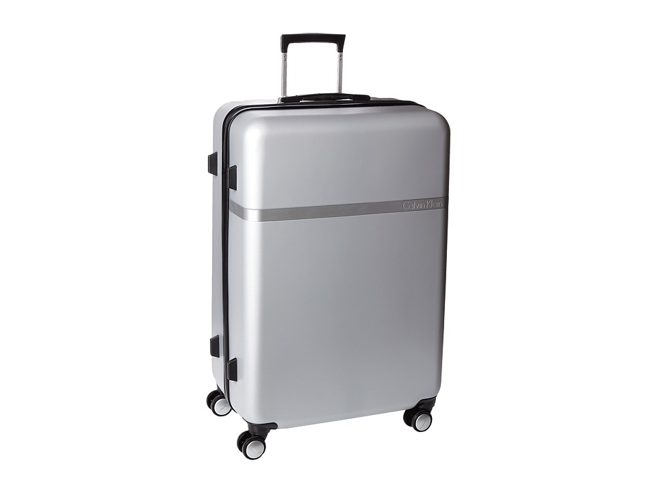 Calvin Klein - Libertad 2.0 28 Expandable Hardside Spinner (Silver) Luggage
