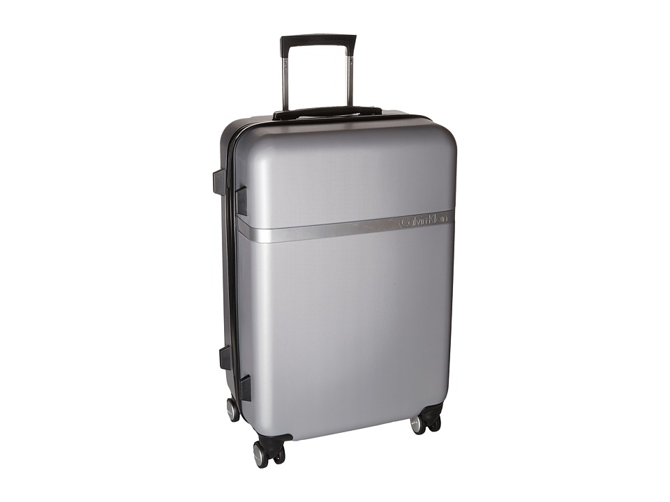 Calvin Klein - Libertad 2.0 24 Upright Suitcase (Silver) Luggage