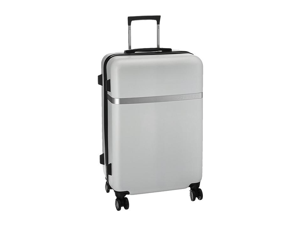 Calvin Klein - Libertad 2.0 24 Upright Suitcase (White) Luggage