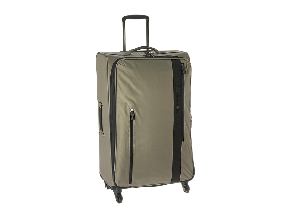 Calvin Klein - Northport 2.0 28 Spinner Upright Suitcase (Beige) Luggage