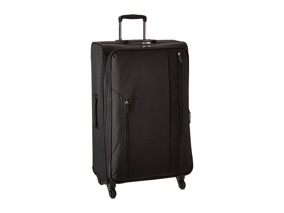 Calvin Klein - Northport 2.0 28 Spinner Upright Suitcase (Black) Luggage