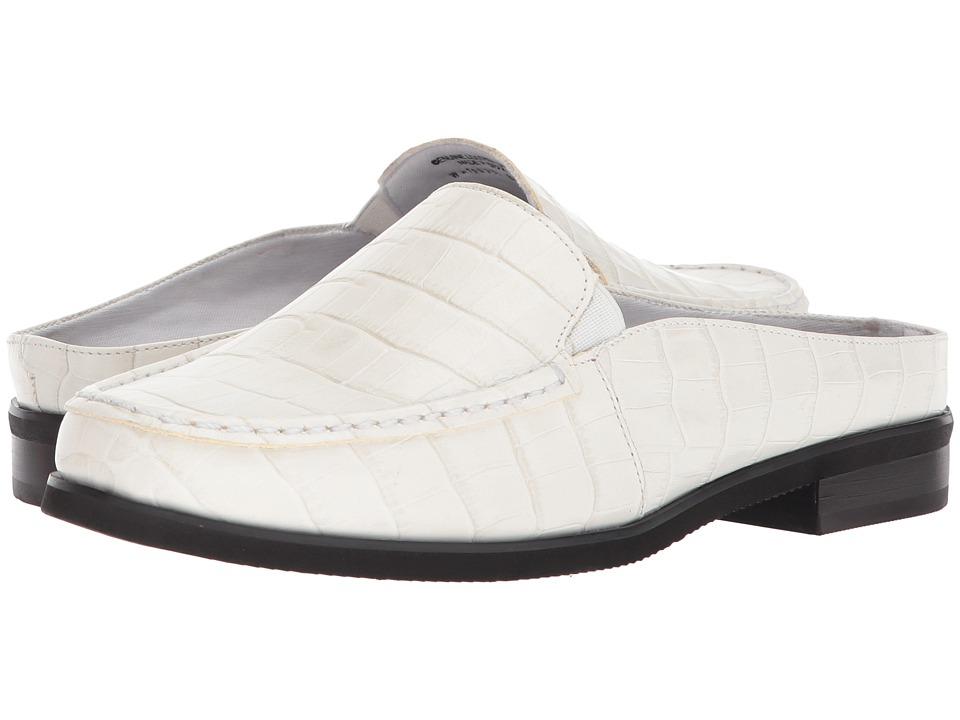 Walking Cradles Windsor (White Dressy Croco Print Leather) Women