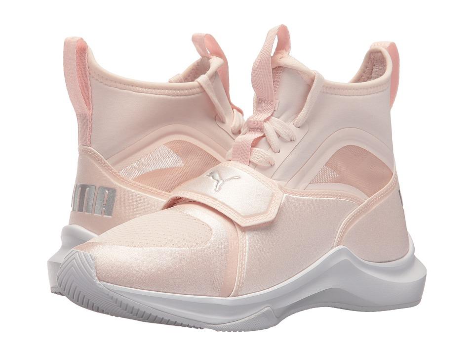 Puma Kids Phenom (Big Kid) (Pearl/PUMA Silver) Kids Shoes