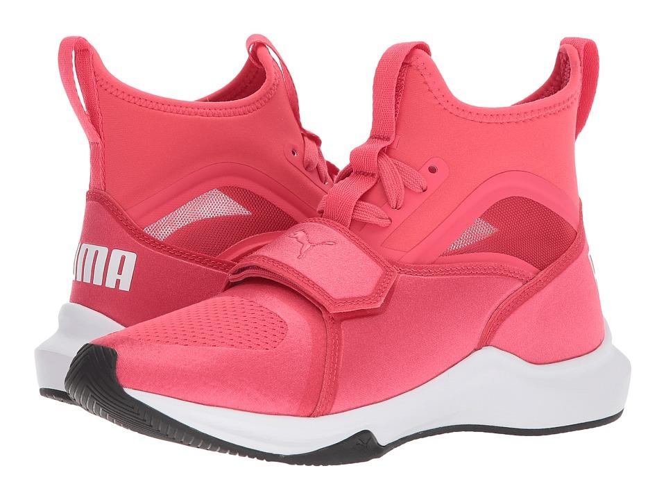 Puma Kids Phenom (Big Kid) (Paradise Pink/Puma White) Girls Shoes