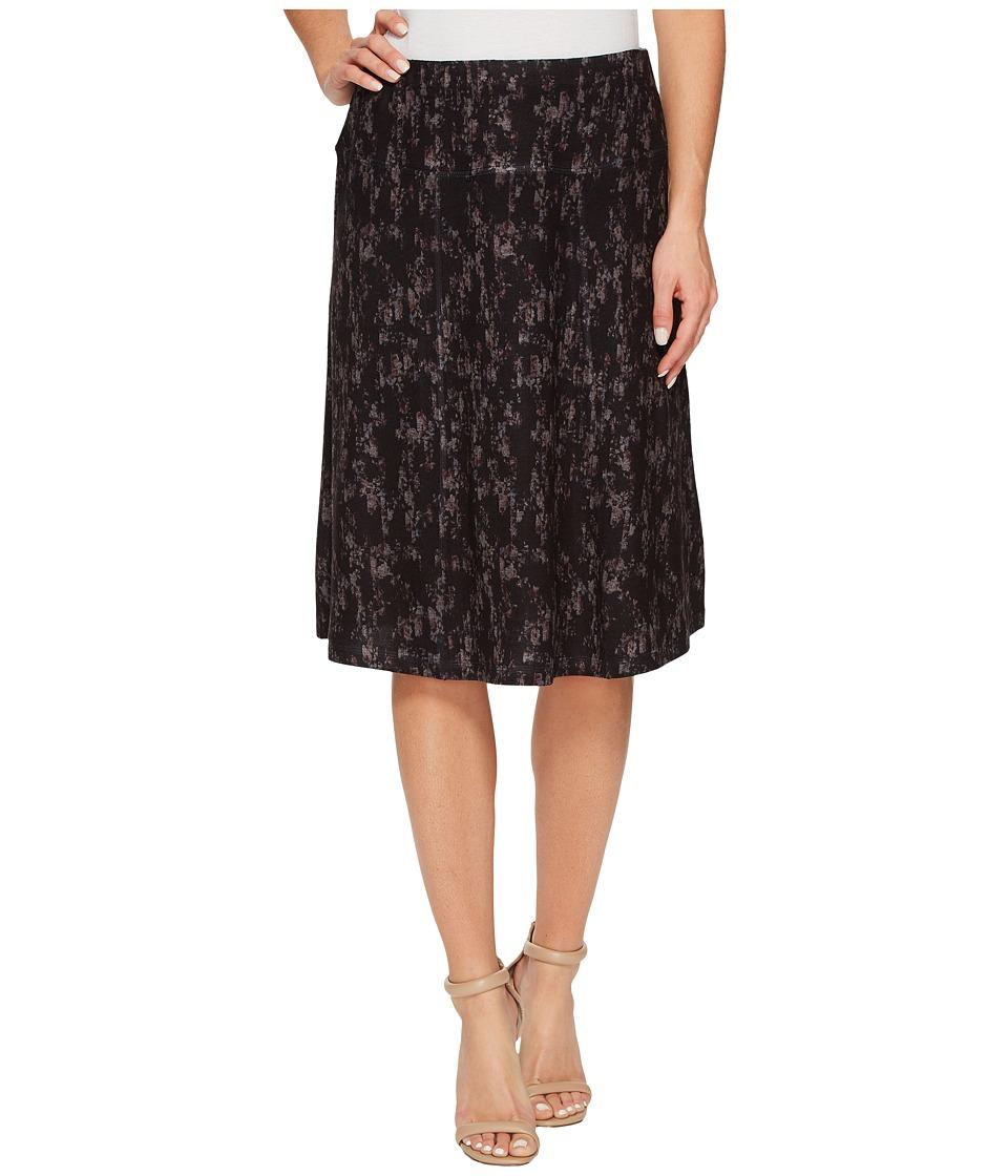 Nally & Millie - Printed Short Length Skirt (Multi) Women's Skirt