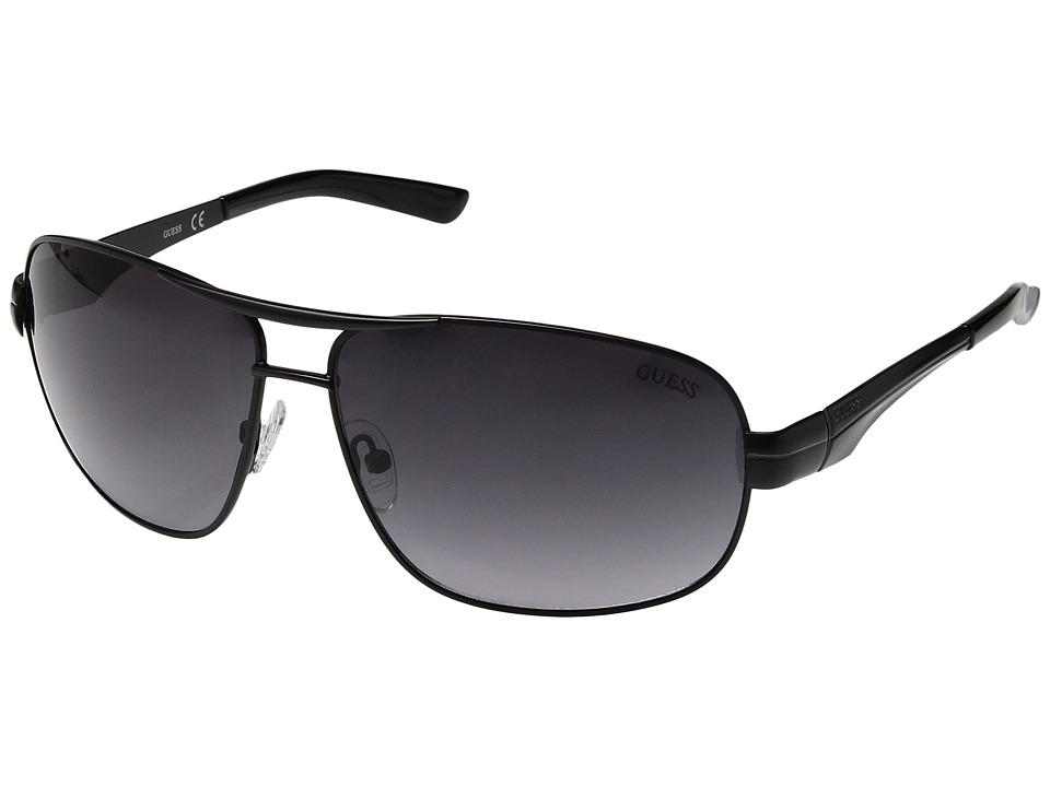 GUESS - GF5021 (Matte Black/Smoke Gradient Lens) Fashion Sunglasses