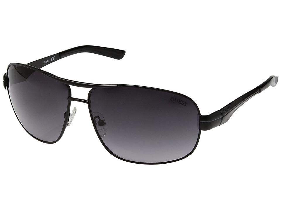 GUESS - GF5021 (Matte Black/Smoke Gradient Lens) Fashion Sunglasses