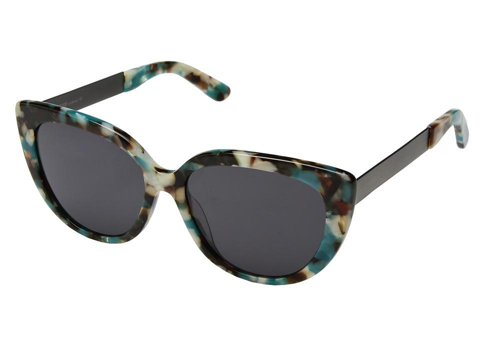 PERVERSE Sunglasses - Helena (Blue/Multi/Black) Fashion Sunglasses