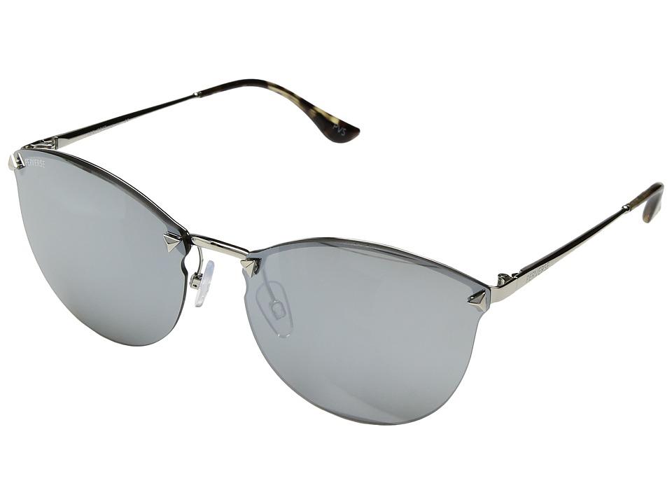 PERVERSE Sunglasses - Broadway (Silver/Silver) Fashion Sunglasses