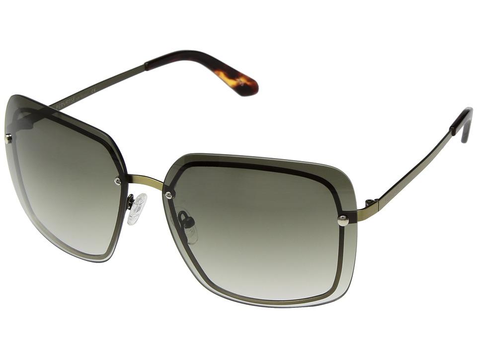 PERVERSE Sunglasses - Fringe (Gold/Gray Gradient) Fashion Sunglasses