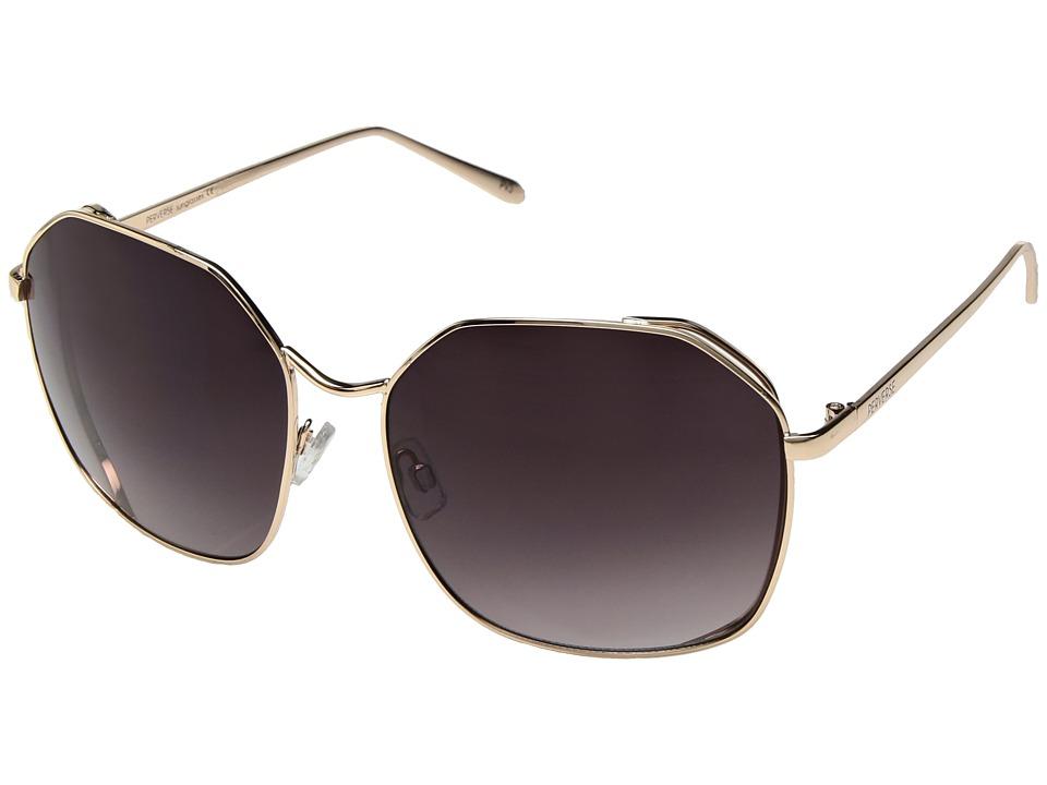 PERVERSE Sunglasses - Voyage (Gold/Black Gradient) Fashion Sunglasses