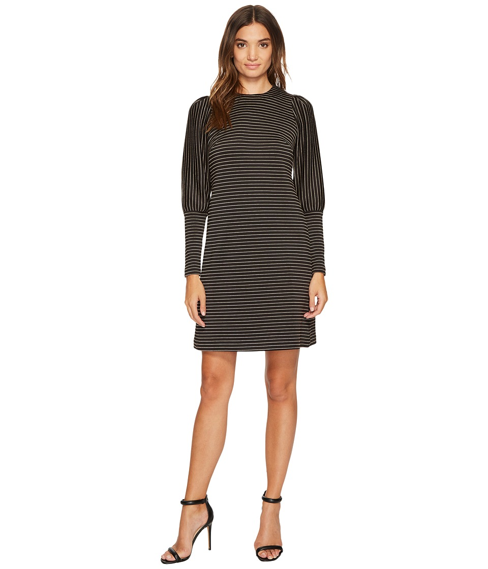 Donna Morgan Leg of Mutton Sleeve Dress