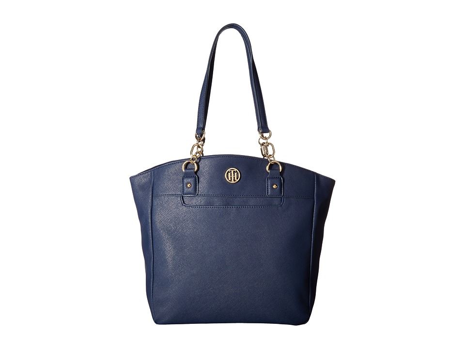 Tommy Hilfiger - Evaline Convertible Tote (Tommy Navy) Tote Handbags