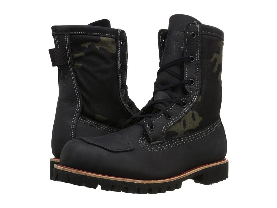 Bates Footwear Bomber (Black) Men