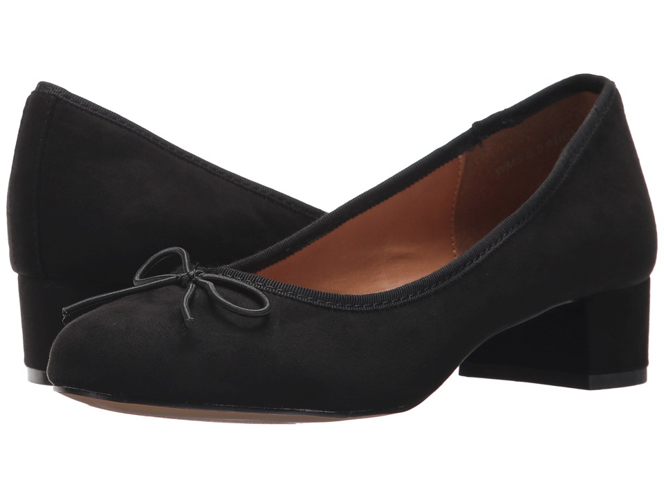 Report Abel (Black Faux Suede) Women