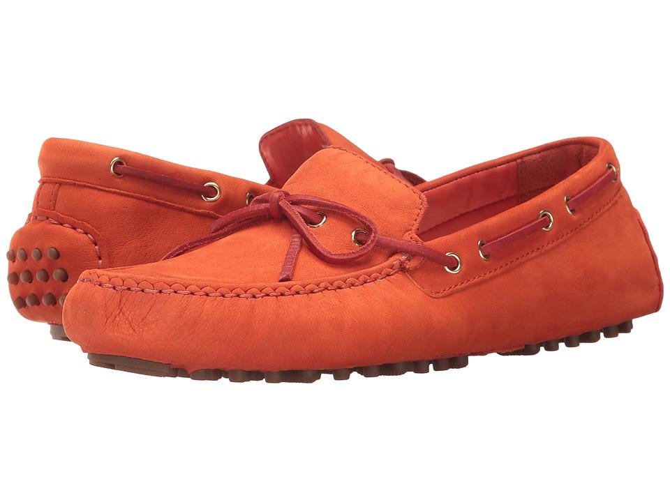 Cole Haan - Garnet II (Citrus Red Nubuck) Women's Shoes