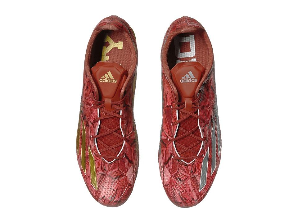 adidas Adizero 5-Star 5.0 Slate (Burnt Sienna/Platinum/Gold Metallic) Men