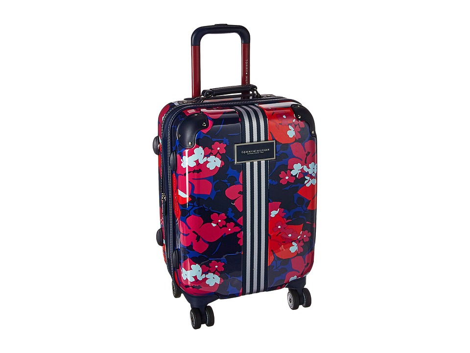 Tommy Hilfiger - Floral 21 Upright Suitcase (Red) Carry on Luggage