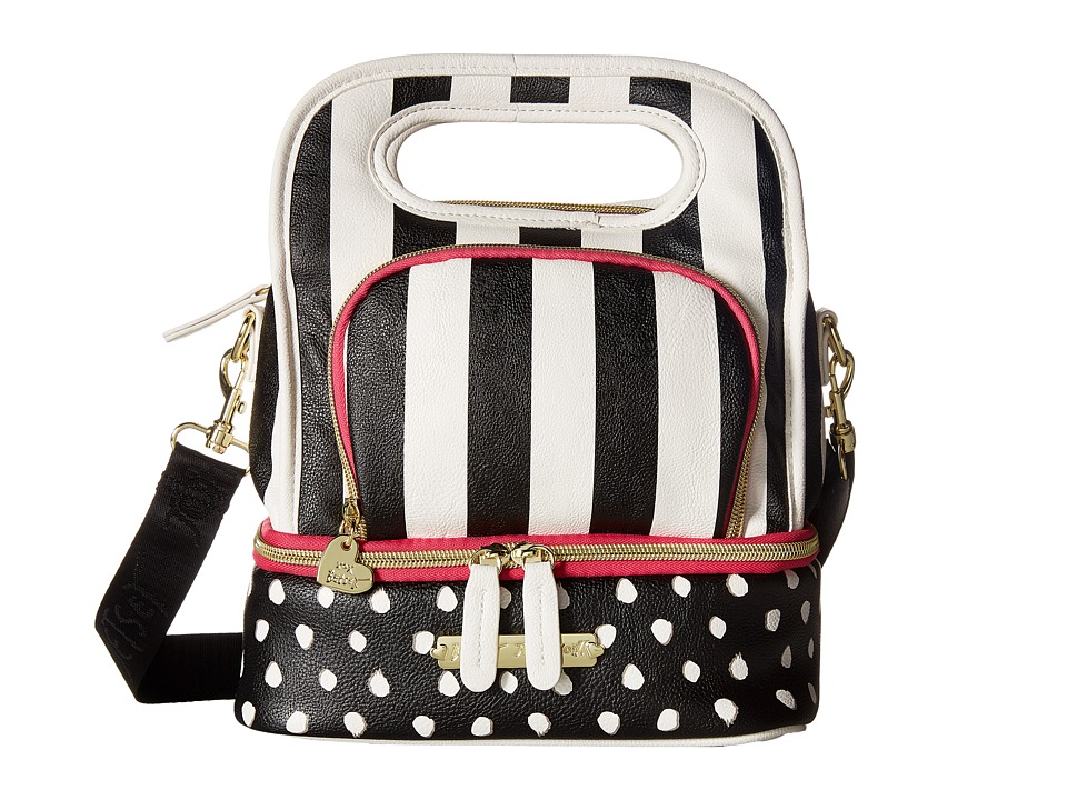 Betsey Johnson - Top-Handle Lunch Tote (Stripe) Tote Handbags