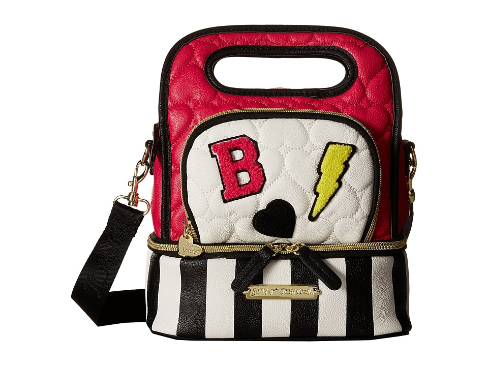 Betsey Johnson - Oval Lunch Tote (Multi) Tote Handbags