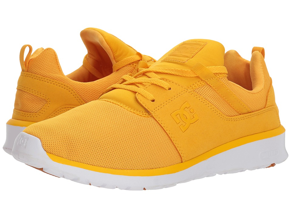 DC Heathrow (Yellow/Gold) Skate Shoes
