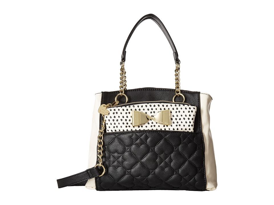 Betsey Johnson - Medium Shopper (Black) Tote Handbags