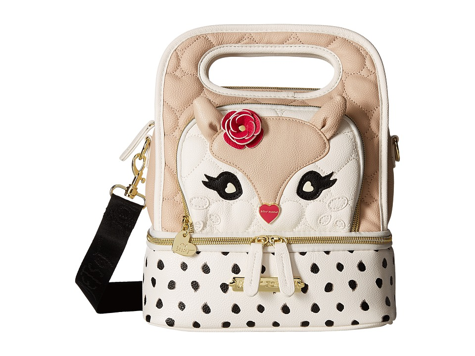 Betsey Johnson - Oval Lunch Tote (Sand) Tote Handbags