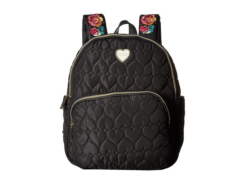 Betsey Johnson - Backpack (Black) Backpack Bags