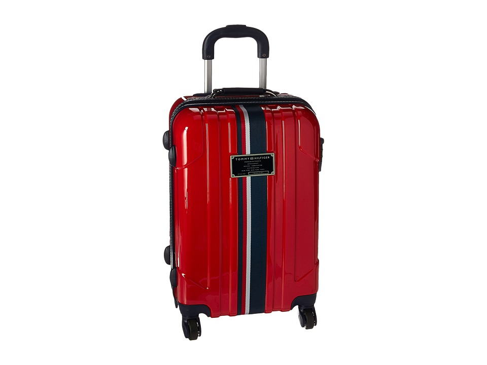 Tommy Hilfiger - Lochwood 21 Upright Suitcase (Red) Luggage