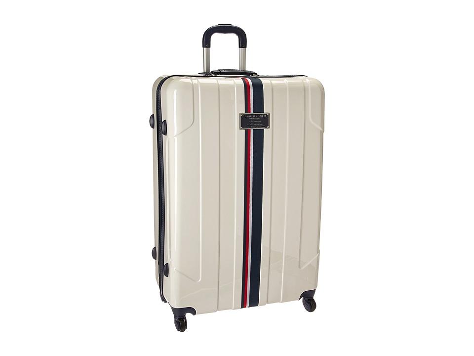 Tommy Hilfiger - Lochwood 21 Upright Suitcase (White) Luggage