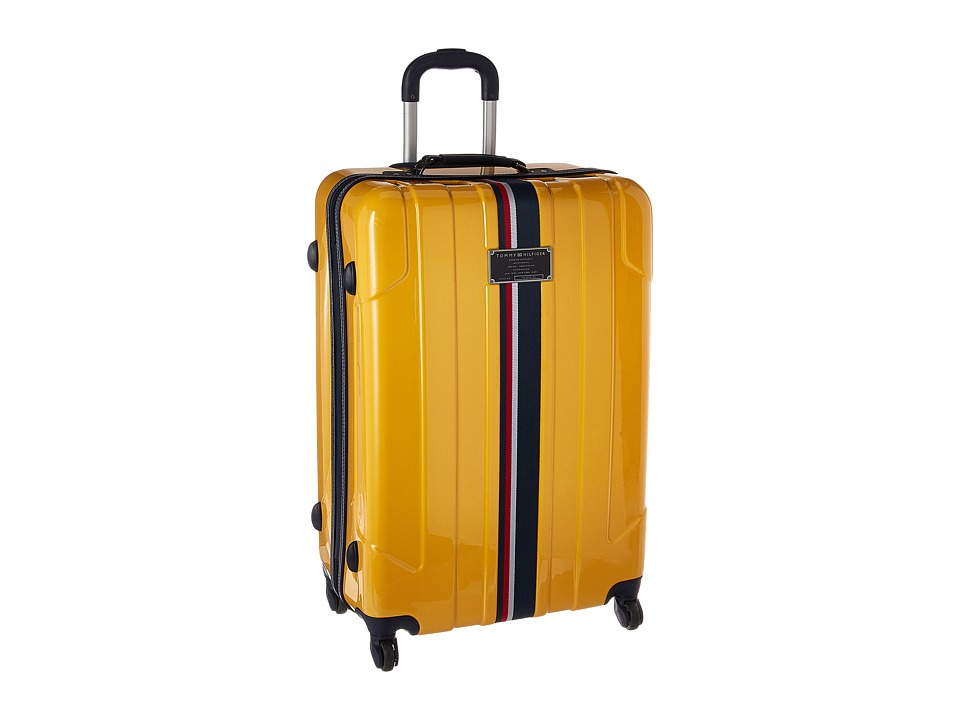 Tommy Hilfiger - Lochwood 28 Upright Suitcase (Yellow) Luggage