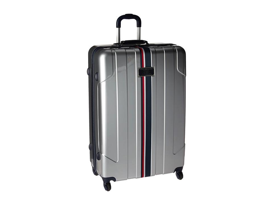 Tommy Hilfiger - Lochwood 28 Upright Suitcase (Silver) Luggage