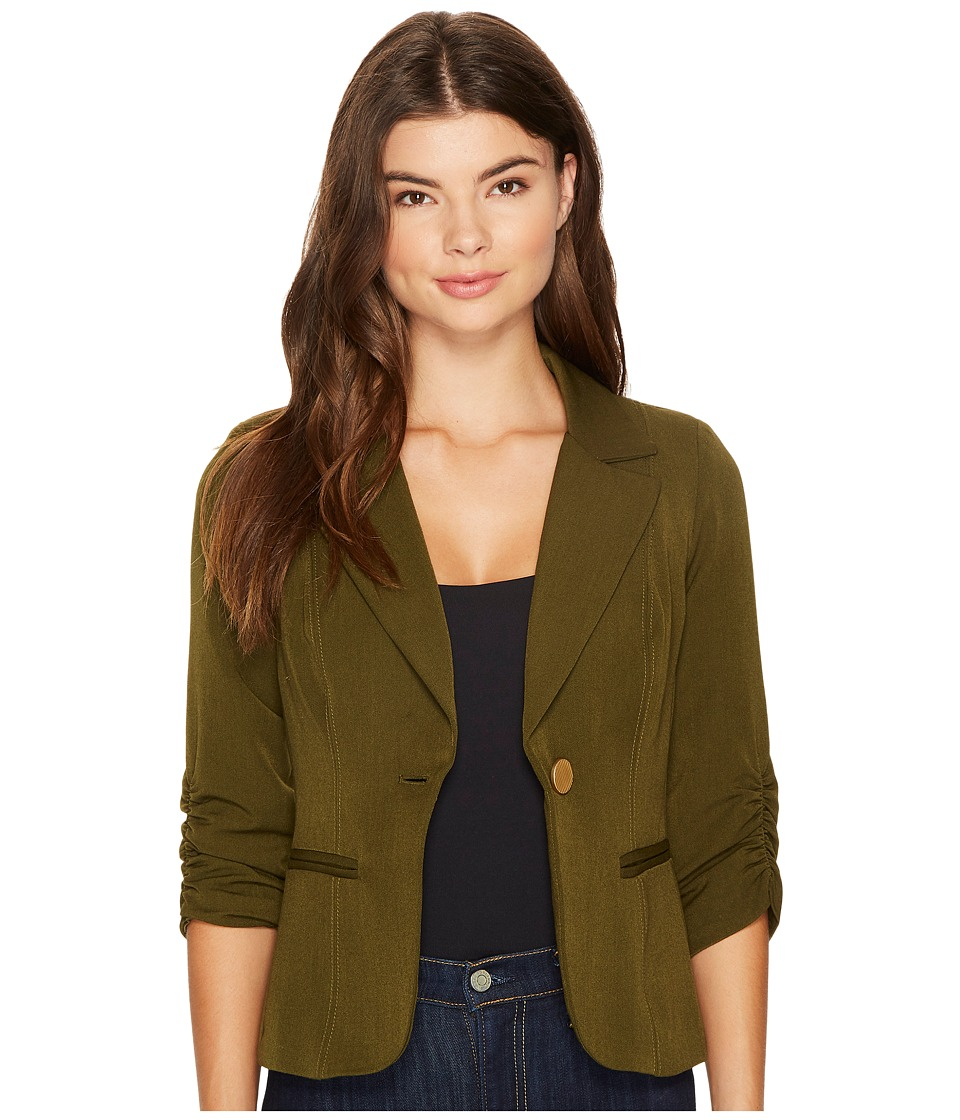XOXO - Kensington Jacket (Olive) Women's Jacket