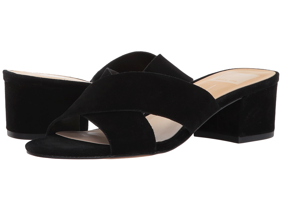Dolce Vita - Felicia (Black Suede) Women's Shoes