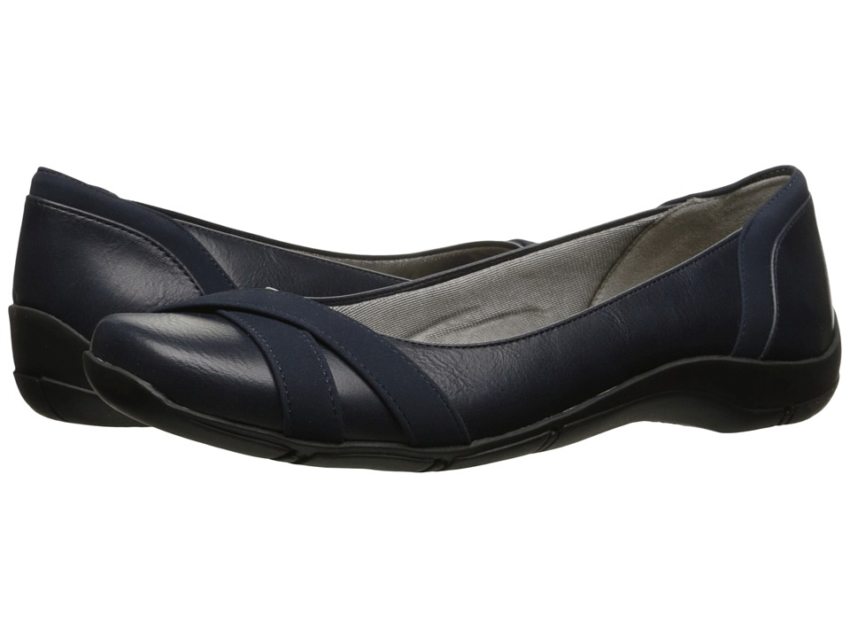 LifeStride - Dari (Navy) Women's Shoes