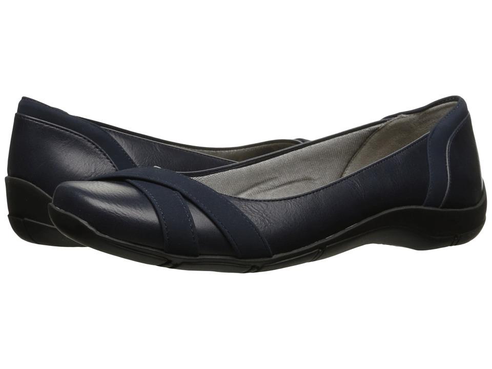 LifeStride - Dari (Navy) Women's Shoes