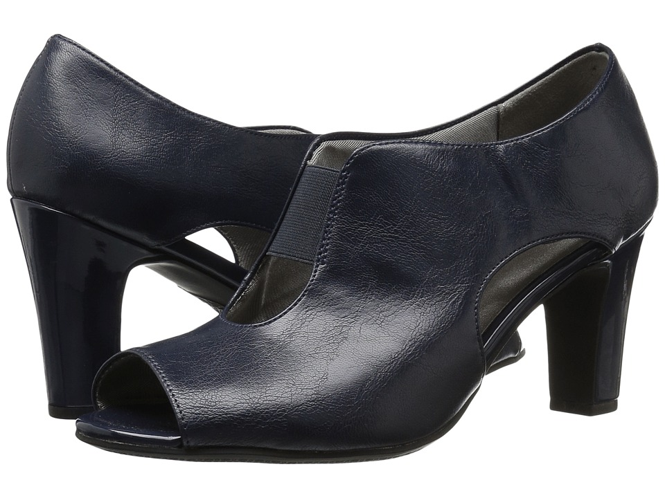 LifeStride - Carla (Navy) Women's Shoes
