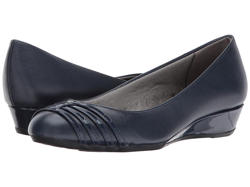 LifeStride - Foley (Navy) Women's Shoes