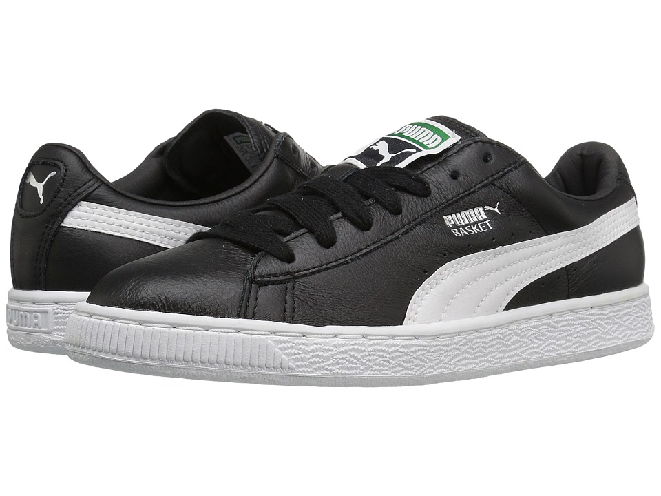 PUMA - Basket Classic LFS (Puma Black/Puma White) Women's Shoes