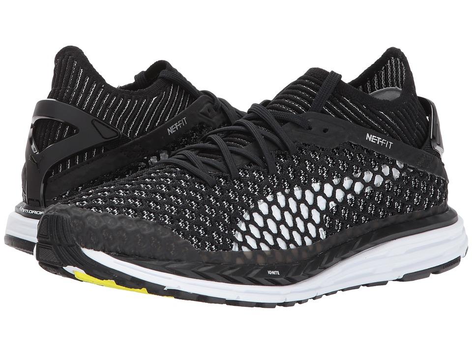 PUMA - Speed Ignite Netfit (Puma Black/Quiet Shade/Puma White) Women's Shoes