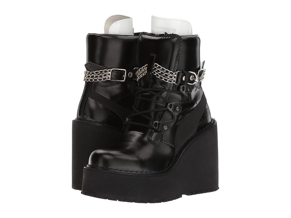 PUMA - SB Wedge Rihanna (Puma Black/Puma Black/Puma Black) Women's Shoes
