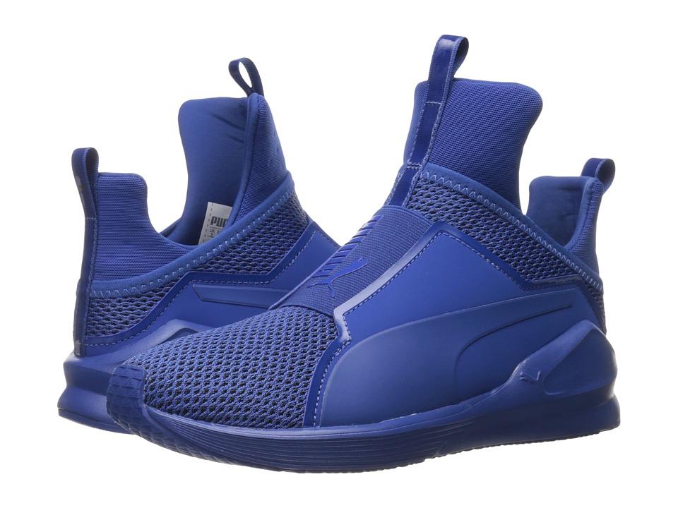 PUMA - Fierce Knit (True Blue) Women's Shoes