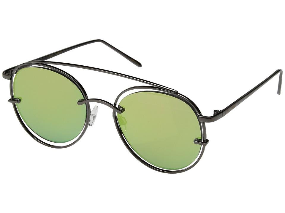 Betsey Johnson - BJ485107 (Black/Pink) Fashion Sunglasses