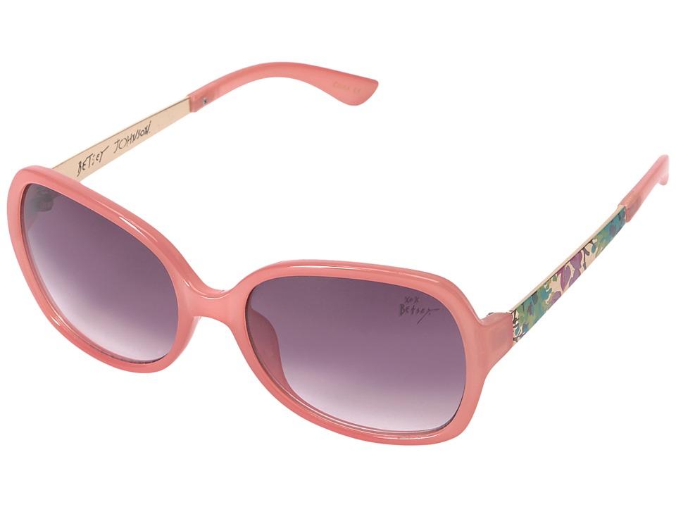 Betsey Johnson - BJ863136 (Pink) Fashion Sunglasses