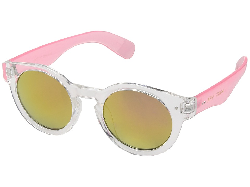 Betsey Johnson - BJ885105 (Clear) Fashion Sunglasses