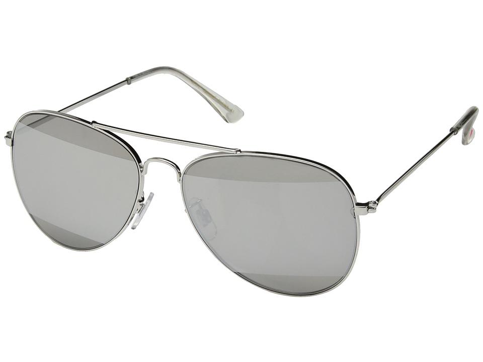 Betsey Johnson - BJ482111 (Silver) Fashion Sunglasses