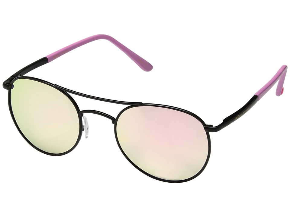 Betsey Johnson - BJ485106 (Black/Pink) Fashion Sunglasses