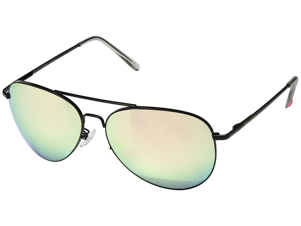 Betsey Johnson - BJ482101 (Black/Pink) Fashion Sunglasses